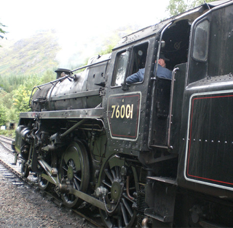 Jacobite steam train Journey from Fort William
